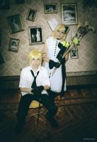 Len and Rin Camellia Version -03 by DamianNada