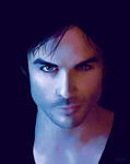 Damon Salvatore by Lintu79