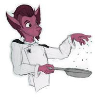 What's Cookin', Good Lookin'? [commission] by LilLunaLady