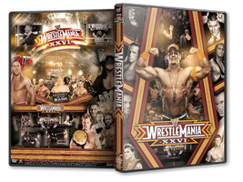 WrestleMania XXVI DVD Cover V2 by Y0urJoker