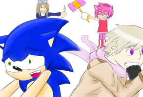 Hetalia and Sonic - Overly Attached Girlfriends by JustSomeRandomKidLol