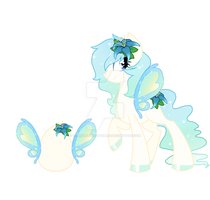 ButterFly Pony adoptable: AUCTION. CLOSED by StarDust-Adoptables