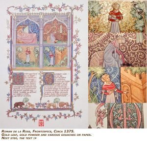 Roman de la Rose - First page/Frontispice - c 1375 by somk