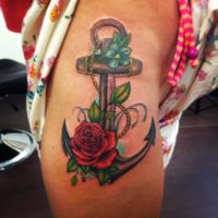 Anchor Tattoo by itchysack