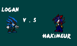Logan the Novahog vs Hakimeur the Hedgehog by Xx-ApocalypseHeartxX