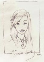 Victoire Weasley by charmontez