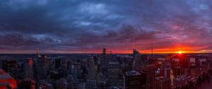 A Manhattan point of view by stracini