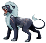 Frost the Lion by Brittlebear