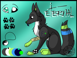 Eternal's Ref Sheet 2013 by WolfAdemius