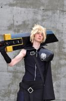 Fanime 2011 - FF7 Cloud by Cosphotos