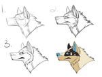 Muzzle tutorial by Chi-lali