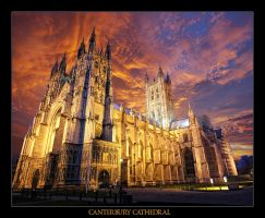 Canterbury Cathedral by WhiteWay