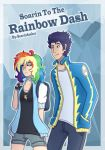 Request: 'Soarin To The Rainbow Dash' Cover by KikiRDCZ