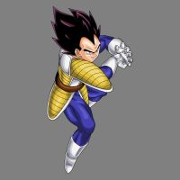 Vegeta Galick Gun v2 by drozdoo