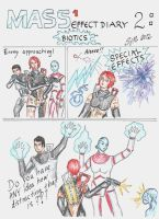 Mass Effect 1 Diary: 2 Biotics by sleepyhamsteri