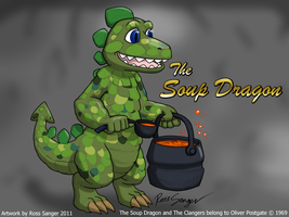 The Soup Dragon - in my style by Ross-Sanger