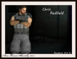 RE6 Chris Redfield by IamRinoaHeartilly