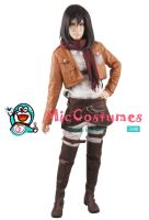 Attack on Titan Mikasa Ackerman Cosplay by miccostumes