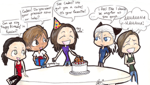 Caden's Birthday Party by IisLARRY