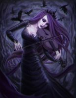Queen of Sorrow by Enamorte