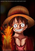 Luffy's Haki by Donquixot