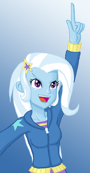 Request #58 - The Great and Powerful Trixie by Nixoclash