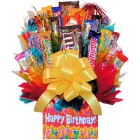 The happy birthday Lightning candy bouquet by primavistax