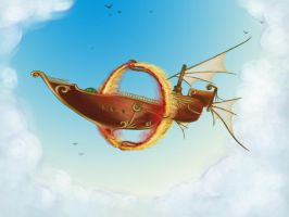 Airship by cenoslave