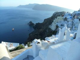 Santorini Oia by NastasiaHands