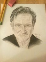 Robin Williams by xXTevinXx