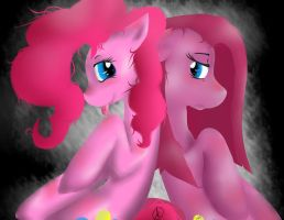 Pink Confliction by Silo-wolf