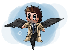 Cas Chibi by TimelordLoki