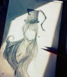 drawing request ~ undertaker. by cutellovewolf
