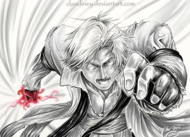God Rugal_The King of Fighters by Claudiney