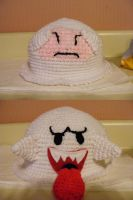 Boo Crochet Hat by Shuko-chan