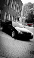 black BMW 530i e60 Urban by DimitriBokowPhoto