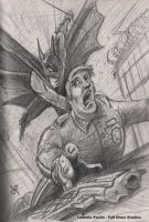 BatMan from the SteamPainting Concept Art Contest by GenoPunk