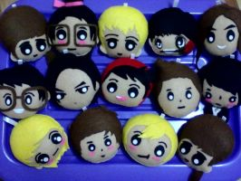 My 'K-POP IDOL KEY CHAIN' by SongAhIn