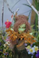 Dryad monster high custom repaint 2 by FinleyUsagi