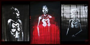 Ghosts of the Light - triptych by Vrolok87