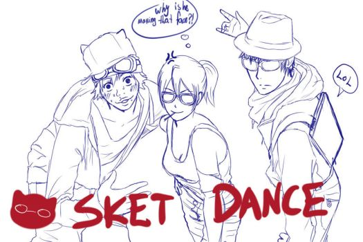 FUCK YEAH SKETDANCE by omer-yaoi-love