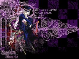 Mad As A Hatter Wallpaper by MewCocoa