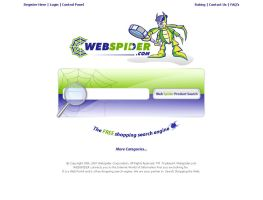 webspider.com template draft by shapemetal