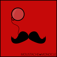 Moustache and Monocle clothing by LukeeeeBennett