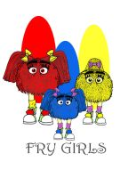 McDonaldland: Fry Girls by Gonzocartooncompany
