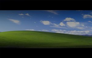 XP wallpaper. Back to the roots by Fajnalaska