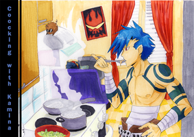 Coocking with Kamina cover by Faezza