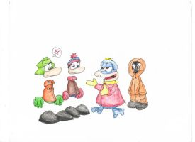 South Park And Rayman In One by Bunnygirl51728