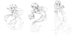 Disney Mermaids 4 by seiyachan