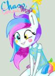 Chaos Circus Pony EQ Style by Sonicgirlify